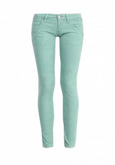 Женские мятные осенние брюки