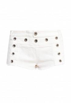 Женские белые осенние джинсовые шорты