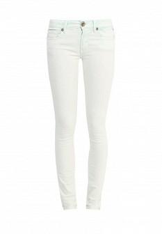 Женские мятные осенние джинсы