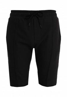 Мужские черные спортивные шорты