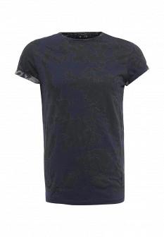 Мужская синяя футболка Religion