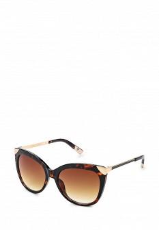 Женские коричневые солнцезащитные очки