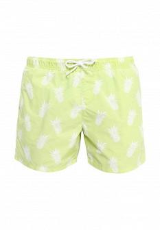 Мужские зеленые осенние шорты