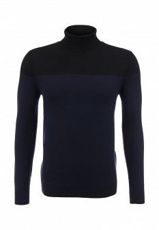Мужской синий черный осенний свитер