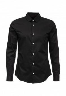 Мужская черная рубашка River Island