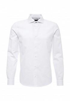 Мужская белая осенняя рубашка