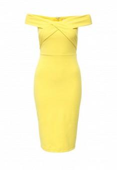 Желтое платье River Island