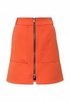 Оранжевая юбка River Island