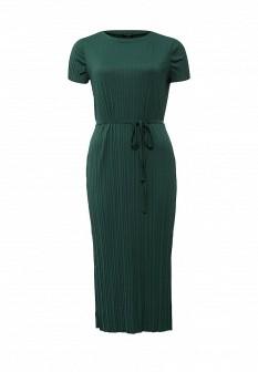 Зеленое осеннее платье River Island