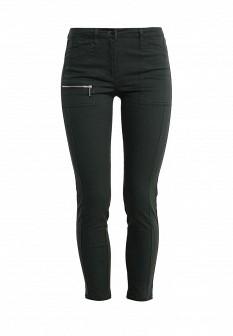 Женские зеленые осенние джинсы