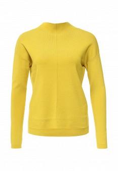 Женский желтый осенний джемпер