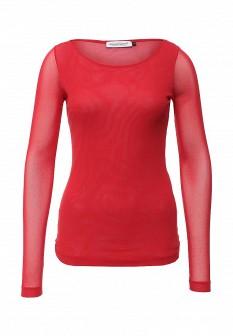 Красная итальянская блузка Rinascimento
