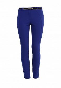 Женские синие итальянские брюки