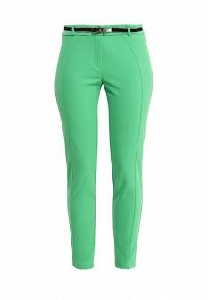 Женские зеленые итальянские брюки
