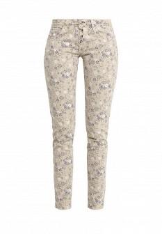 Женские бежевые итальянские джинсы