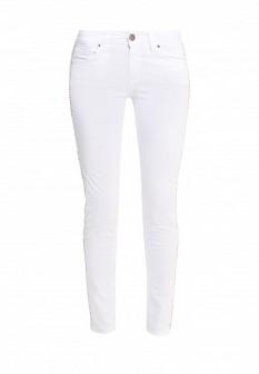 Женские белые итальянские джинсы