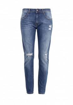 Женские синие итальянские джинсы