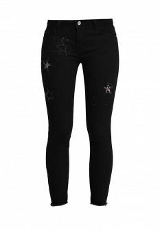 Женские черные итальянские джинсы