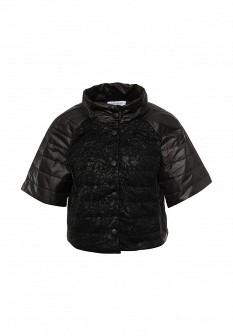 Женская черная итальянская осенняя куртка