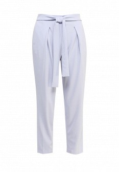 Женские голубые итальянские брюки