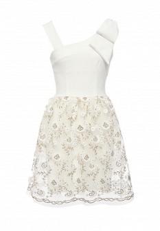 Белое итальянское платье Rinascimento