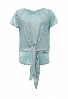Женская бирюзовая итальянская футболка