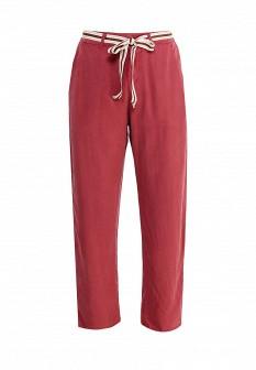 Женские красные итальянские брюки