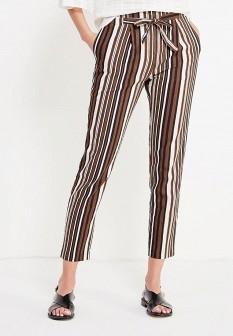 Женские коричневые итальянские брюки