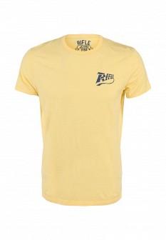 Мужская желтая футболка RIFLE
