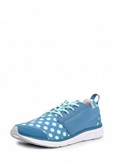 Женские голубые кроссовки