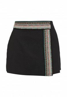 Черная осенняя юбка ROXY