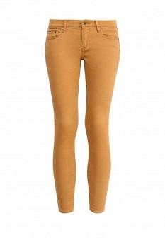 Женские коричневые осенние брюки