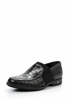 Мужские черные итальянские осенние туфли лоферы
