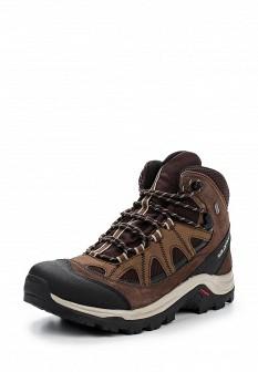 Мужские коричневые трекинговые ботинки из нубука