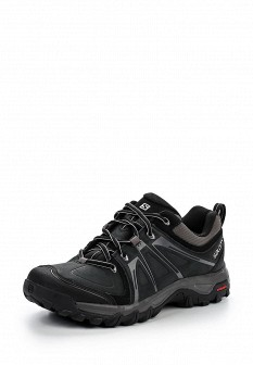 Мужские черные трекинговые ботинки из нубука