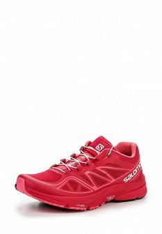 Женские красные кроссовки SALOMON