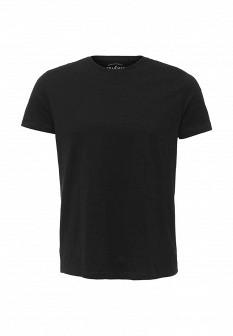 Мужская черная футболка SELA