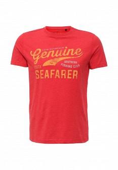 Мужская красная футболка SELA