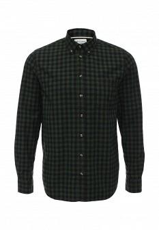 Мужская зеленая осенняя рубашка