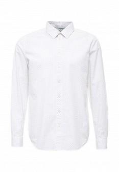 Мужская белая рубашка SELA