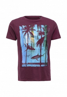 Мужская фиолетовая футболка SELA