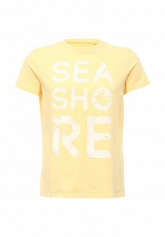 Мужская желтая футболка SELA
