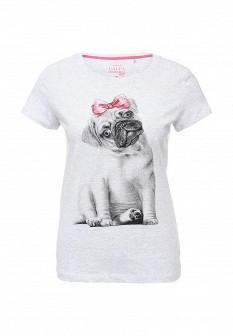 Женская серая футболка SELA