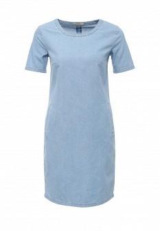 Голубое джинсовое платье SELA