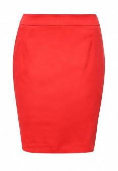 Красная юбка SELA