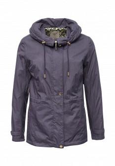 Женская фиолетовая осенняя куртка
