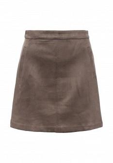 Коричневая юбка SELA