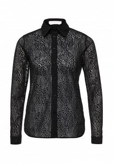 Черная осенняя блузка See by Chloe