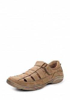 Мужские бежевые туфли Shoiberg