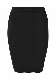 Черная осенняя юбка Silvian Heach